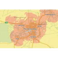 Карта покрытия GSM/3G/4G