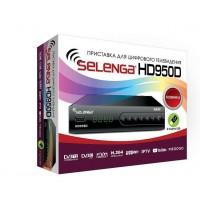 Цифровая приставка DVB-T2 SELENGA HD950D