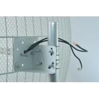 Параболическая 3G / 4G / Wi-Fi антенна МИМО - 2 х 27 дБ