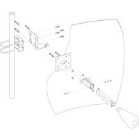 Параболическая MIMO антенна 2 х 24 дБ