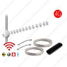 Комплект MIMO 4G 18 dBi с Wi-Fi модемом 8372