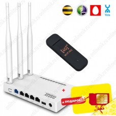 Комплект 3G / 4G Модем + Роутер