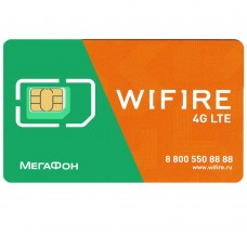 Сим-Карта WiFire Mobile Безлимитный интернет + ТВ